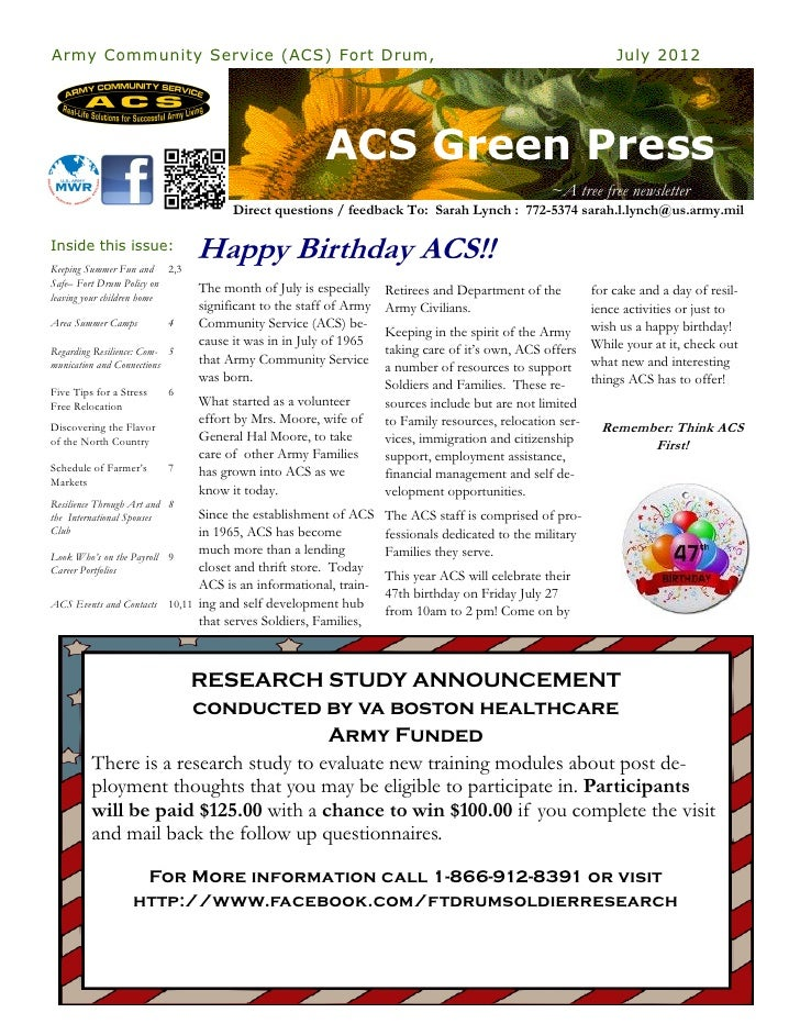 July ACS Green Press July 2012