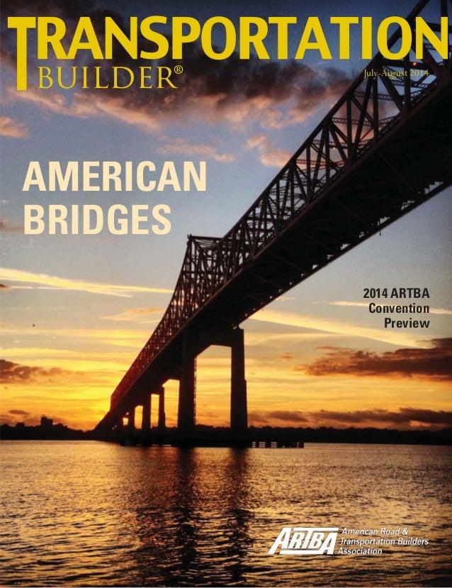 "July/August ""Transportation Builder"" magazine"