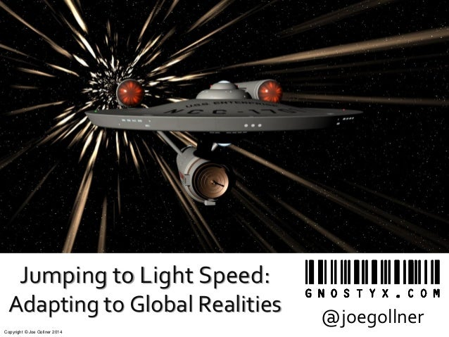 Jumping to Light Speed (Spotlight Session at STC 2014)