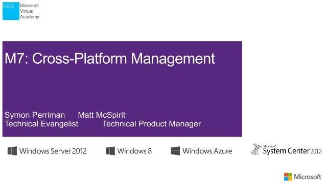 VMWARE Professionals -  Cross-Plattform Mangement
