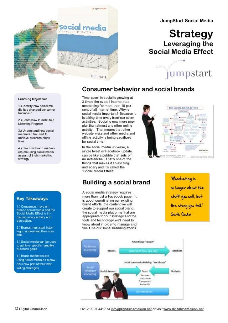 JumpStart Social Media                                                                                         Strategy   ...