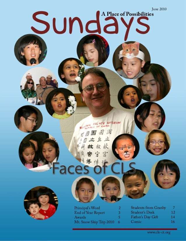 CLS - 2010 年月刊 (畢業 )