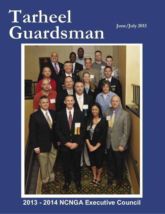 TarheelGuardsmanJune/July 20132013 - 2014 NCNGA Executive Council
