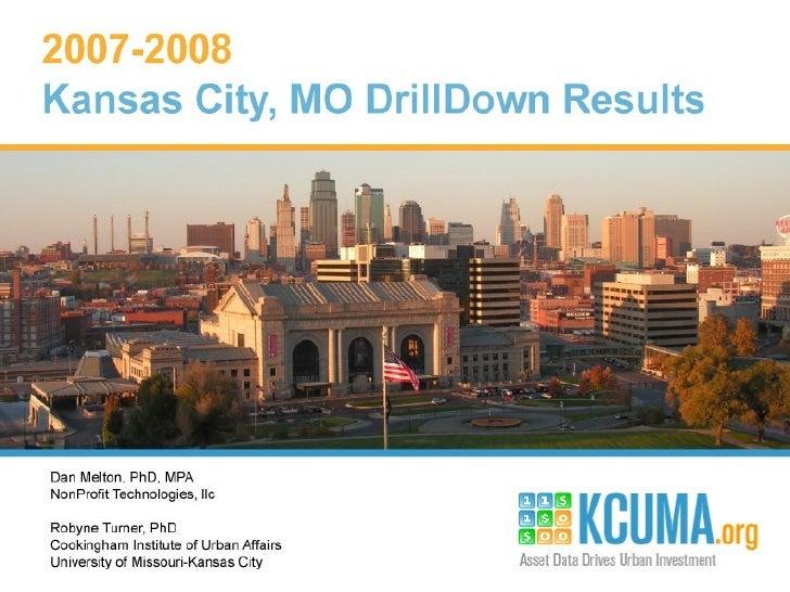 June 16th Presentation - Kansas City Urban Market Assets
