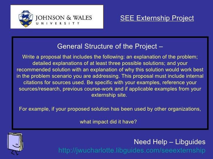 June 1  Externship Presentation