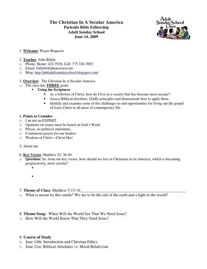 June 14th Study Guide