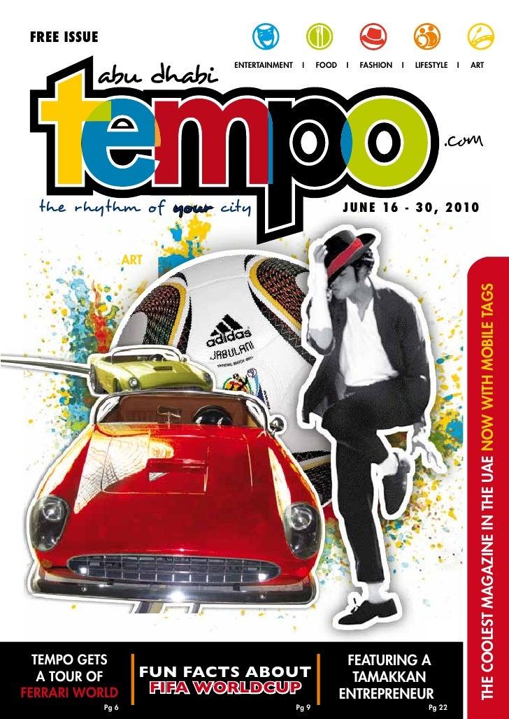 Tempo - June 16-30, 2010