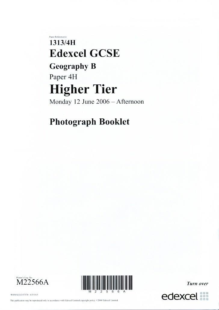 June 2006 Main Paper Resources