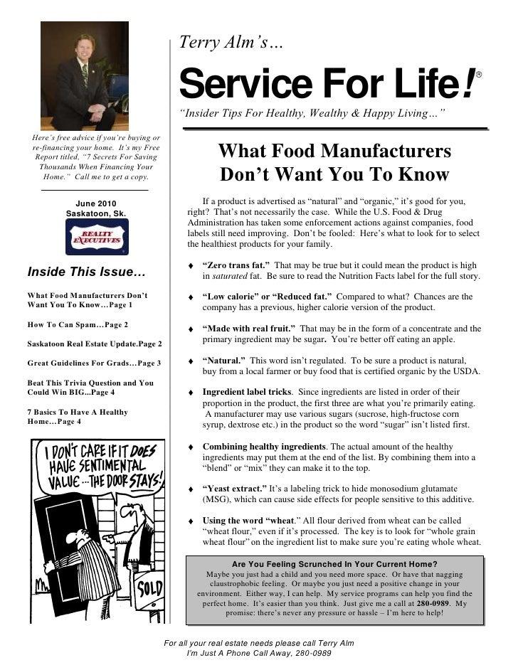 SFL Newsletter June 2010