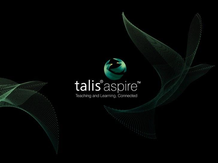 Programme UpdateTalis Aspire User Group, June 2011Chris Clarke, Talis Education Limited