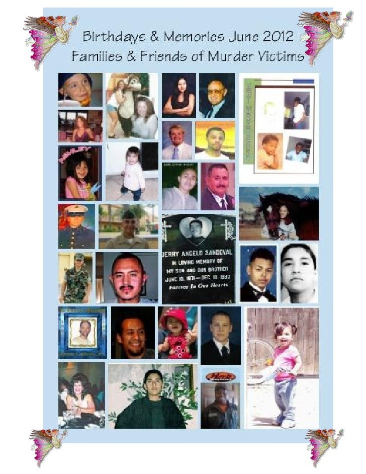 FAMILIES & FRIENDS OF                                         Families & Friends of Murder Victims:MURDER VICTIMS, Inc.   ...