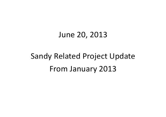 June 20, 2013 Ocean City Capital Plan update