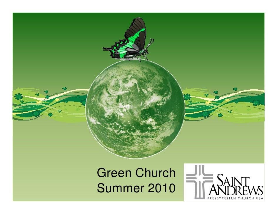 Week 2 Green Church-Sabbath
