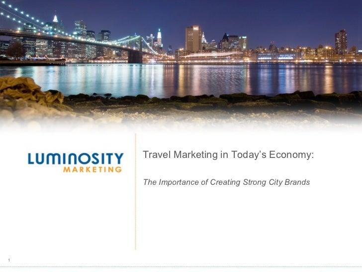 Travel Marketing In Today's Economy