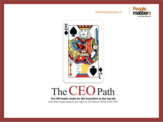 June Cover Story - The CEO Path