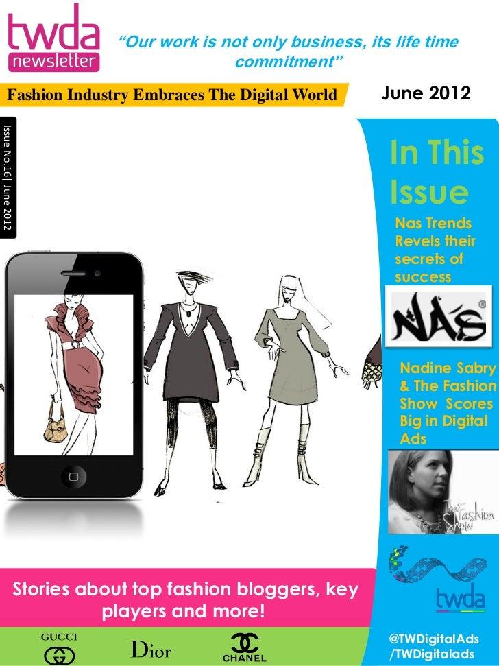 June newsletter twda-june2012