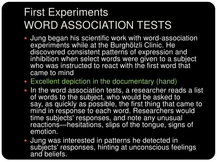 word association test This word association test will reveal your true self don't even bother with this if you can't handle discovering who you really are.