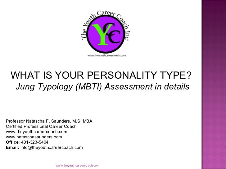 Jung Personality MBTI Slide Show for Youth & Young Professionals