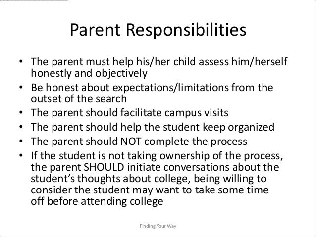 Responsibility Essay Ideas
