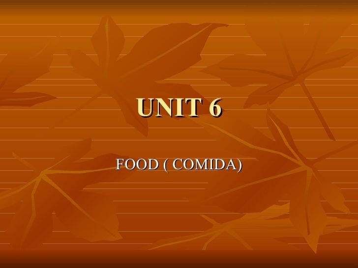 Junior Unit 6 ( New Vocabulary)