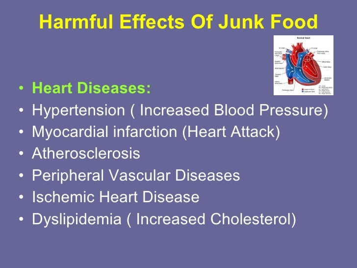effects of junk food essay Despite regular eating of junk food being linked to obesity and other chronic health conditions, many people still choose junk food sources over healthy and wholesome food sources.
