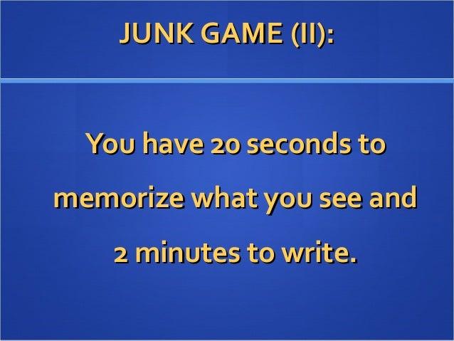 JUNK GAME 2