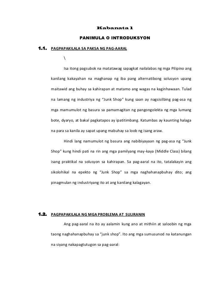 Kabanata 1<br />PANIMULA O INTRODUKSYON<br /><ul><li>PAGPAPAKILALA SA PAKSA NG PAG-AARAL</li></ul><br />Isa itong pagsubok...