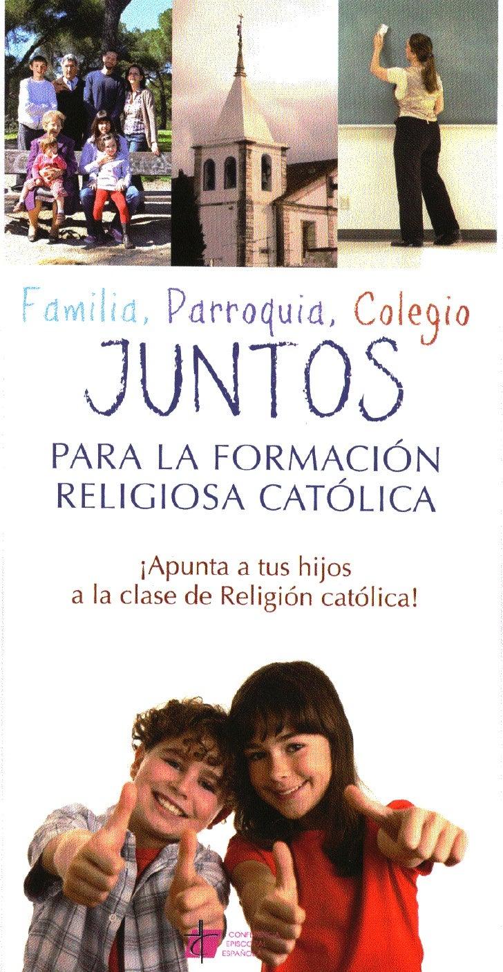 Juntos Para La FormacióN Religiosa De Tus Hijos