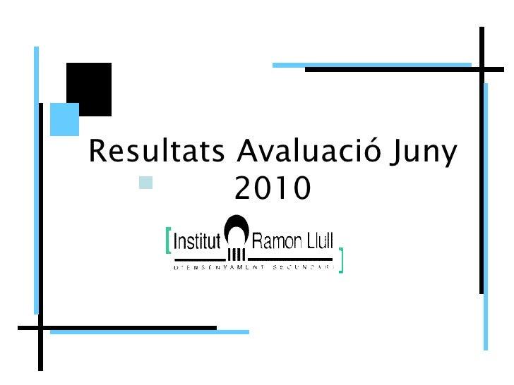Juny2010 IES Ramon Llull