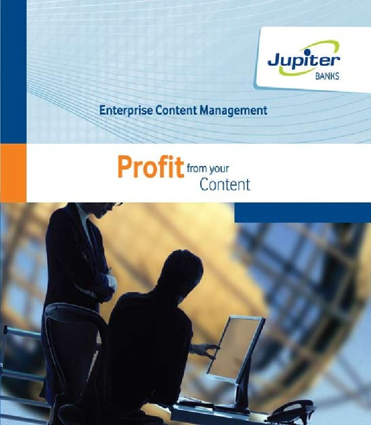 Jupiter Banks -- Profit from your Content