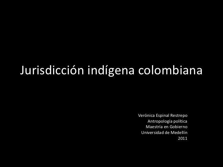 Jurisdicción indígena