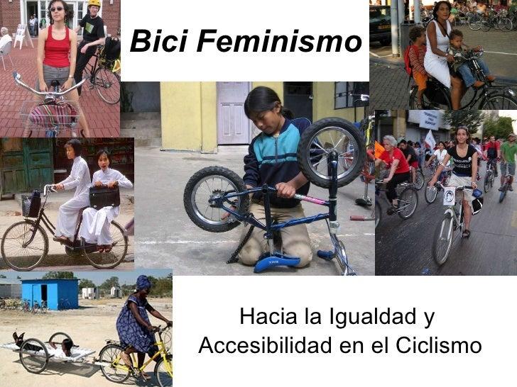 Bici Feminismo Hacia  la  Igualdad  y  Accesibilidad  en el  Ciclismo