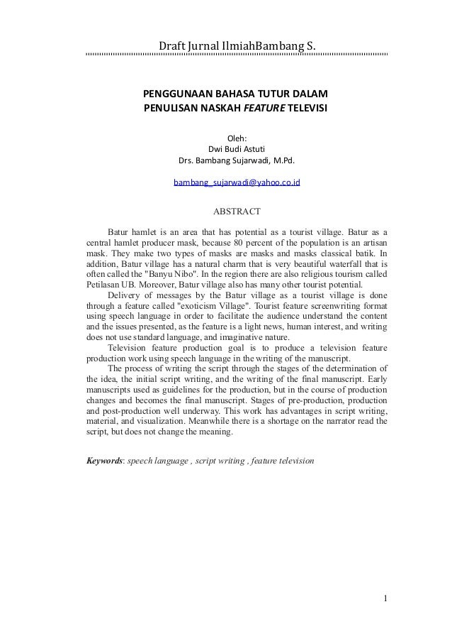 Contoh Abstrak Jurnal Ilmiah Pdf - Forex Typo
