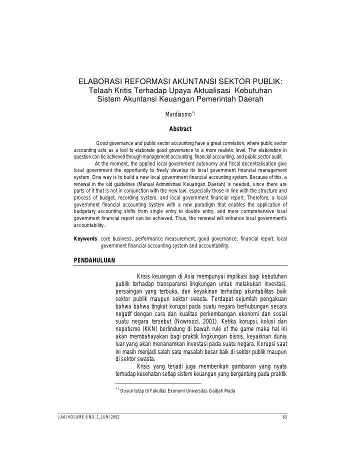 Jurnal Akunting Dan Auditing Mardiasmo