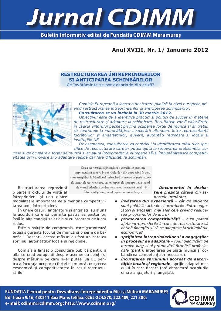 Jurnal cdimm nr.1_2012-ed maramures