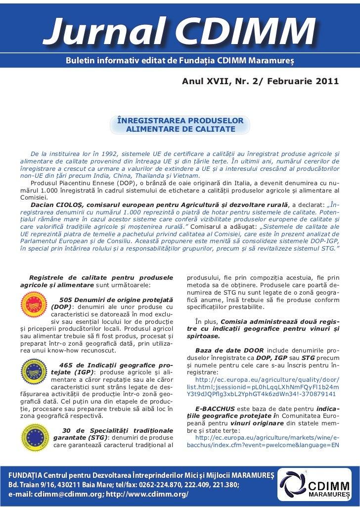 Jurnal cdimm nr.2_2011-ed maramures