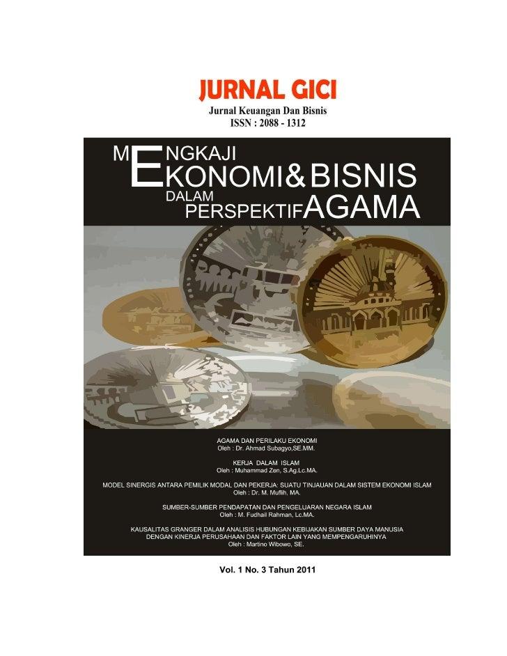 JURNAL GICI                                                                    Vol.1 No.3 Th. 2011                        ...