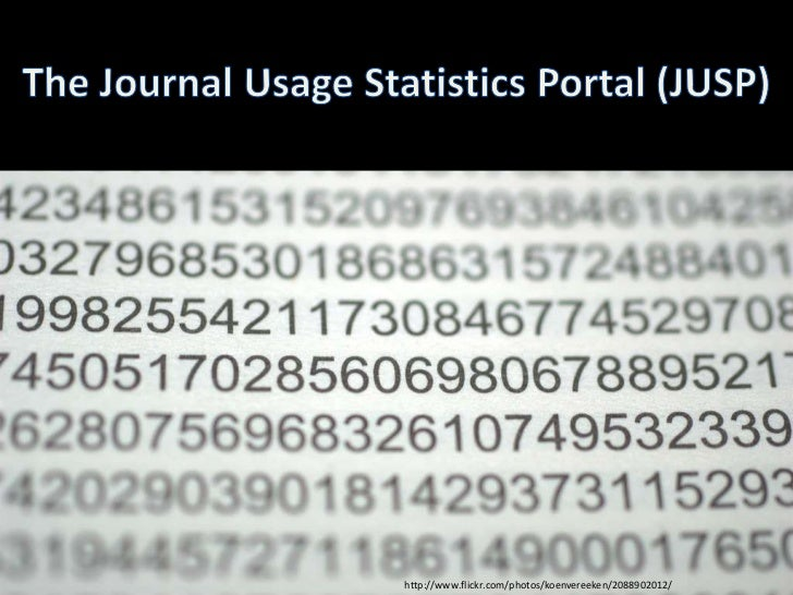 Jisc webinar: How to measure use and impact of your journal subscriptions (JUSP)