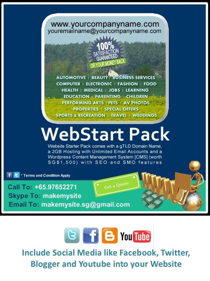 WebStart Pack by MakeMySite.sg