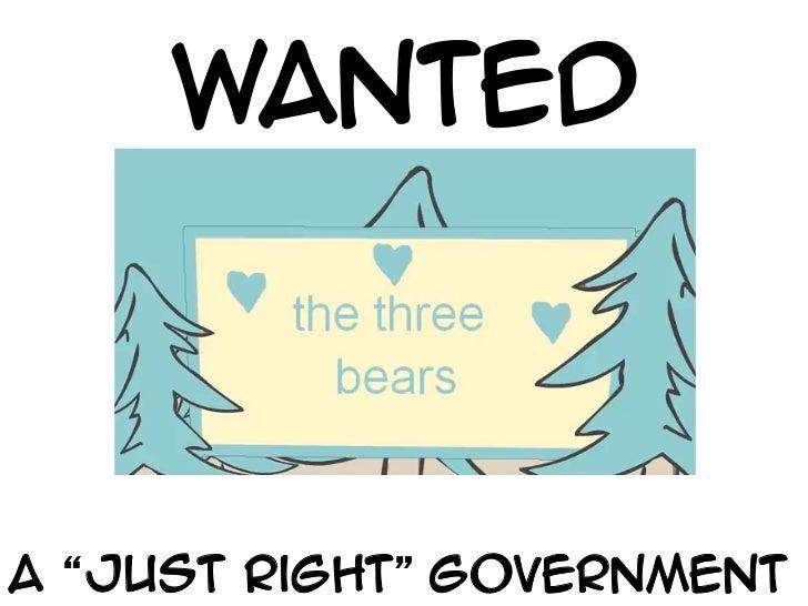 Just Right-Govt 1