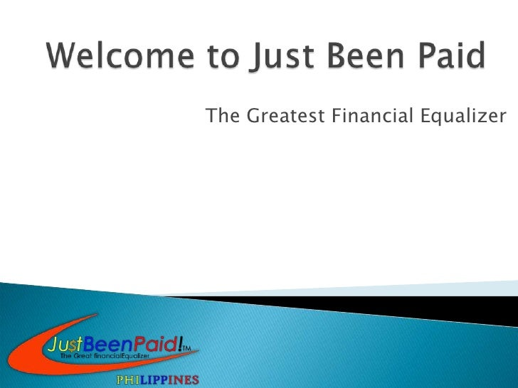 The Greatest Financial Equalizer