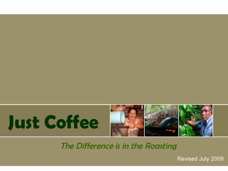 Just coffee new presentation2