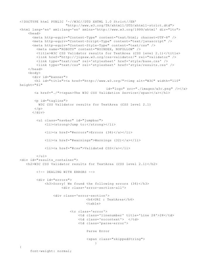 Just css results dogmeat template validator