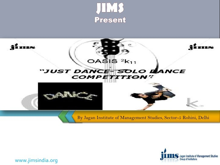 Just dance competition