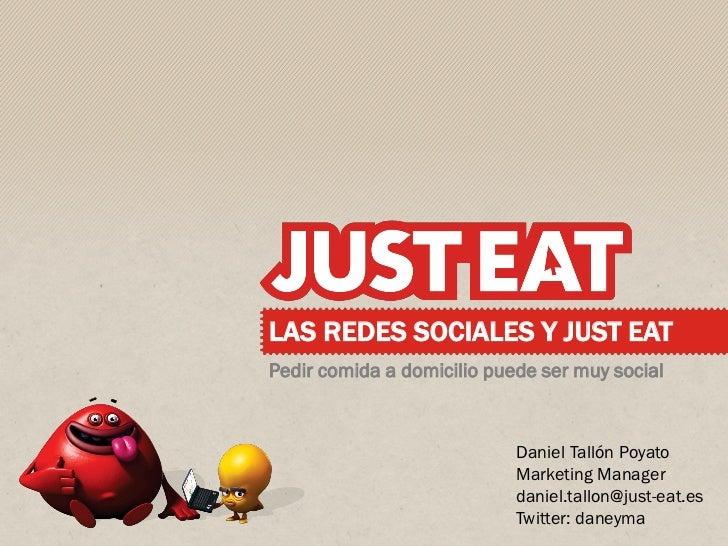 Justeat #tc talks