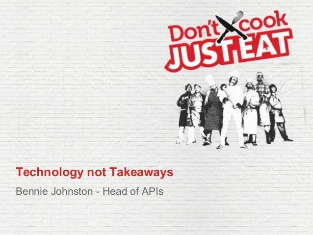 Just-Eat Presentation at TechStartupJobs Fair London 2014