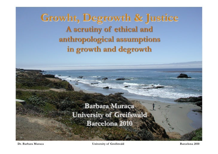 Growth, Degrowth, and Justice