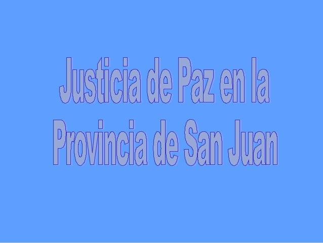 • Crea un Juzgado por cada Municipio o Departamento y Crea                Cuatro para la ciudad Capital • Recientemente se...