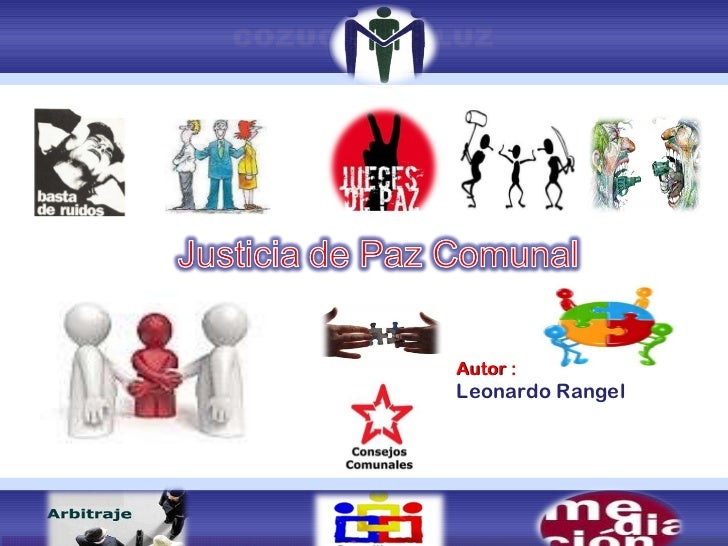 Justicia de paz y justicia comunal