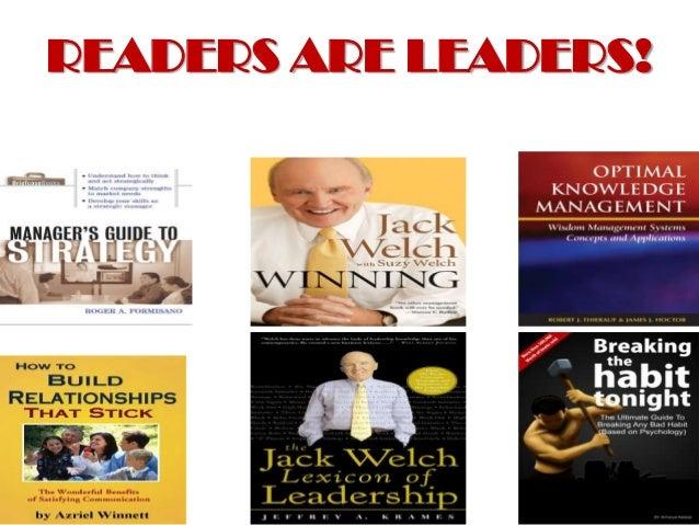 READERS ARE LEADERS!